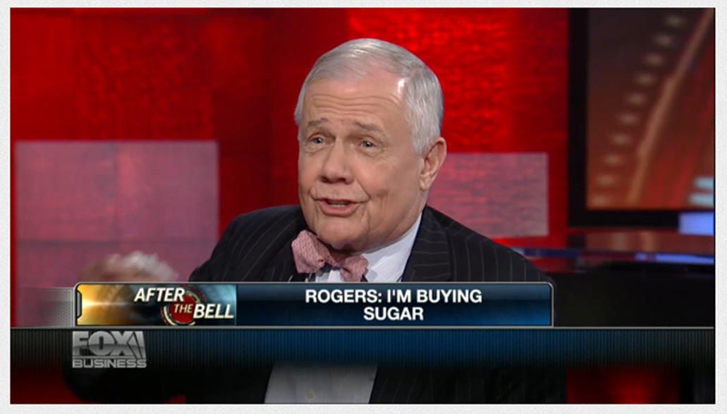 Jim Rogers investit sur le sucre