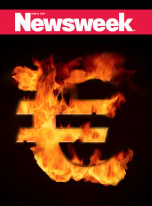 Couverture de Newsweek euro